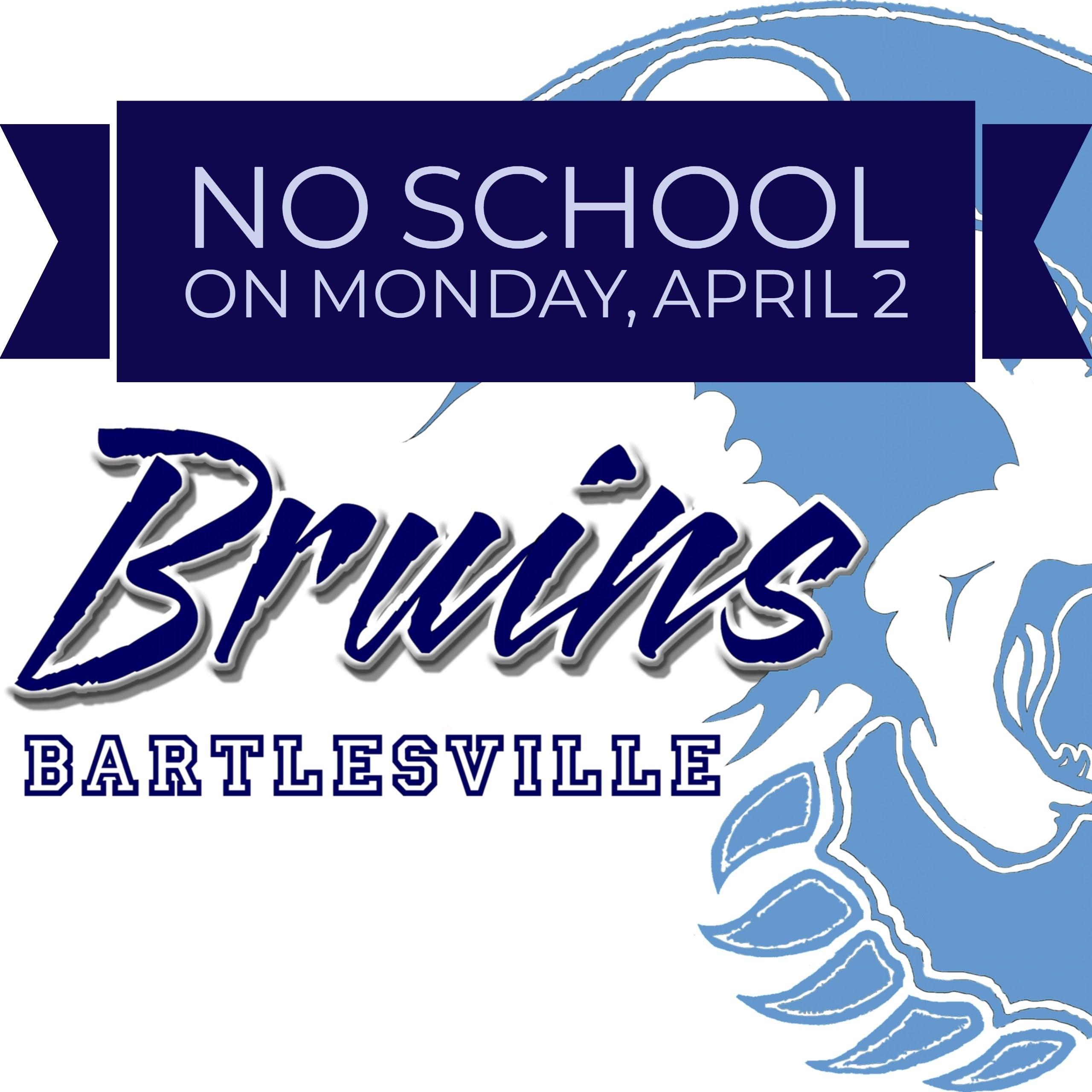 No school 4/2