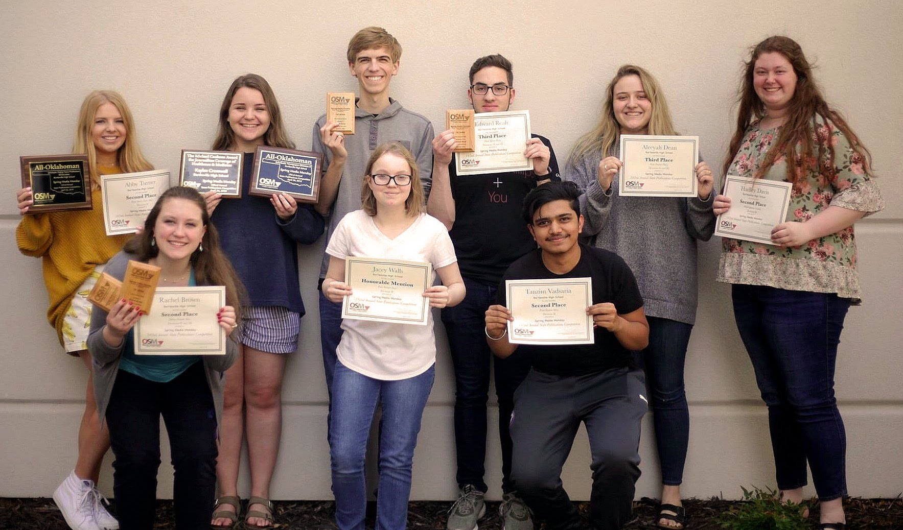 BHS newspaper students earn state recognition