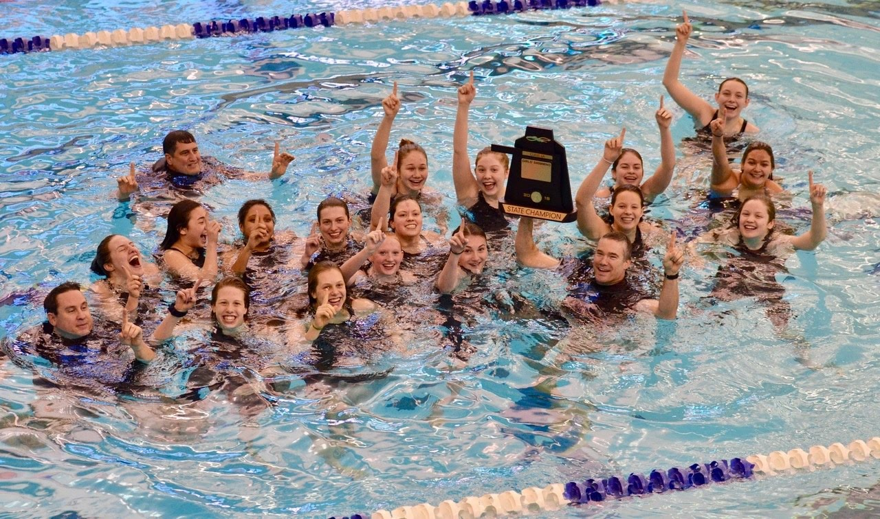 2018 6A State Girls Swim Champions