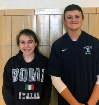 Sophomores - Abigail Claussen & Kurt Kauk