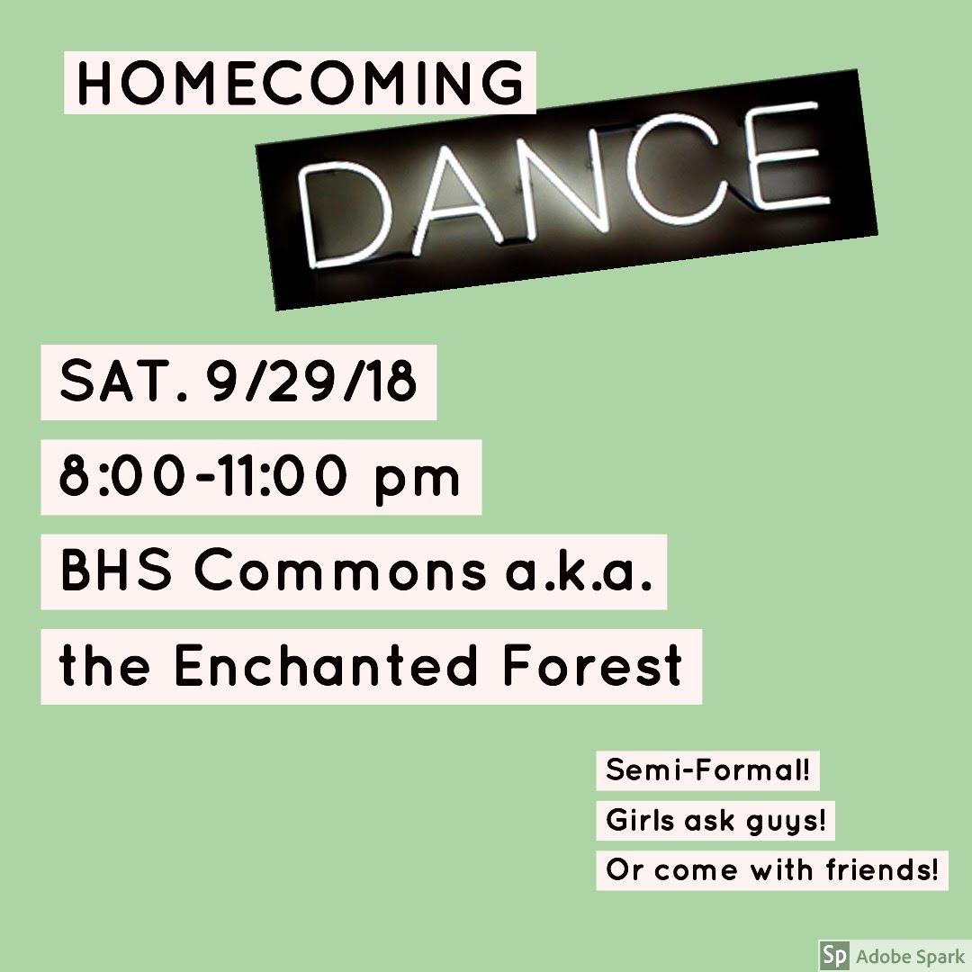 Homecoming 2018 Dance