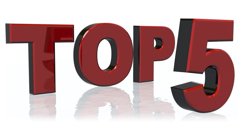 Top 5 for October