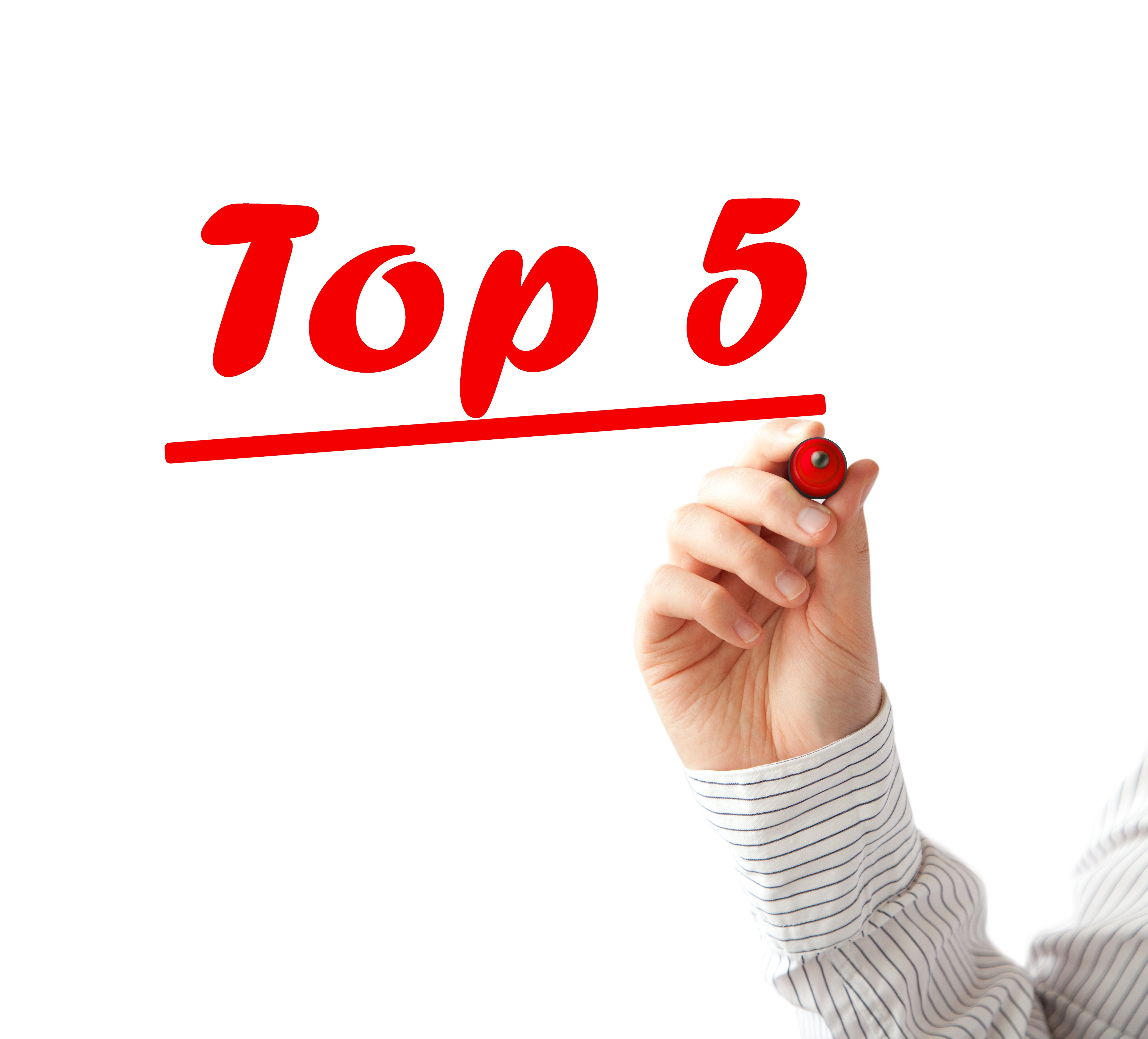 Top 5 for Parents - November Edition