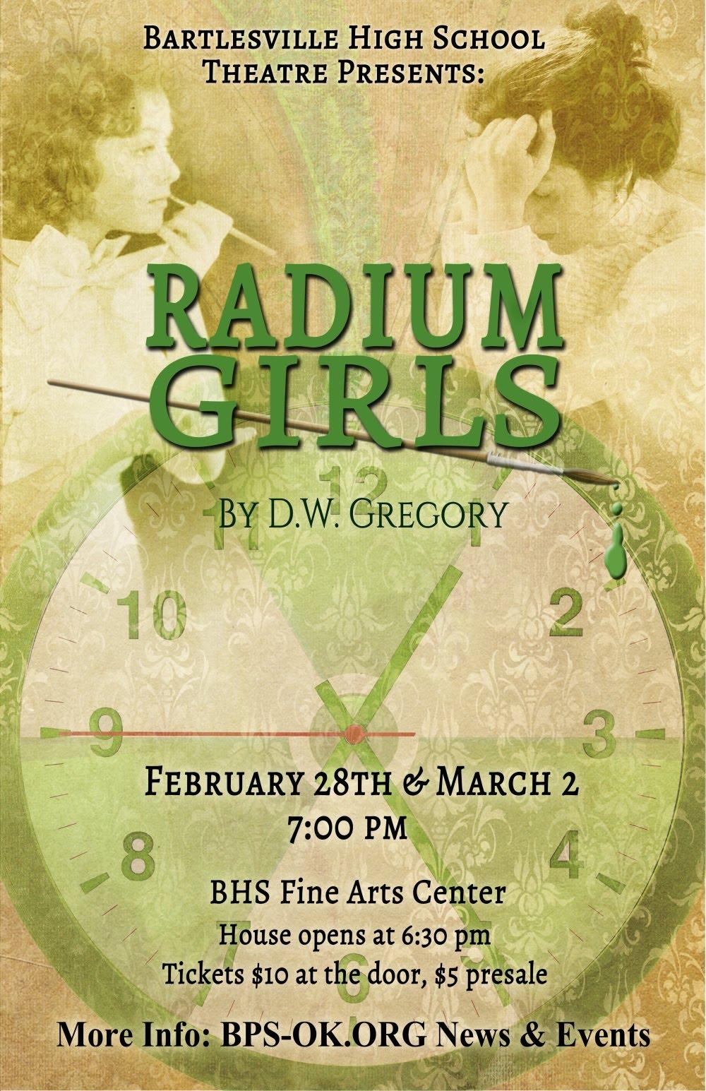 Radium Girls Flyer