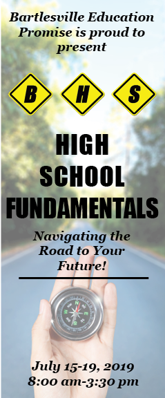 BHS High School Fundamentals Brochure Cover