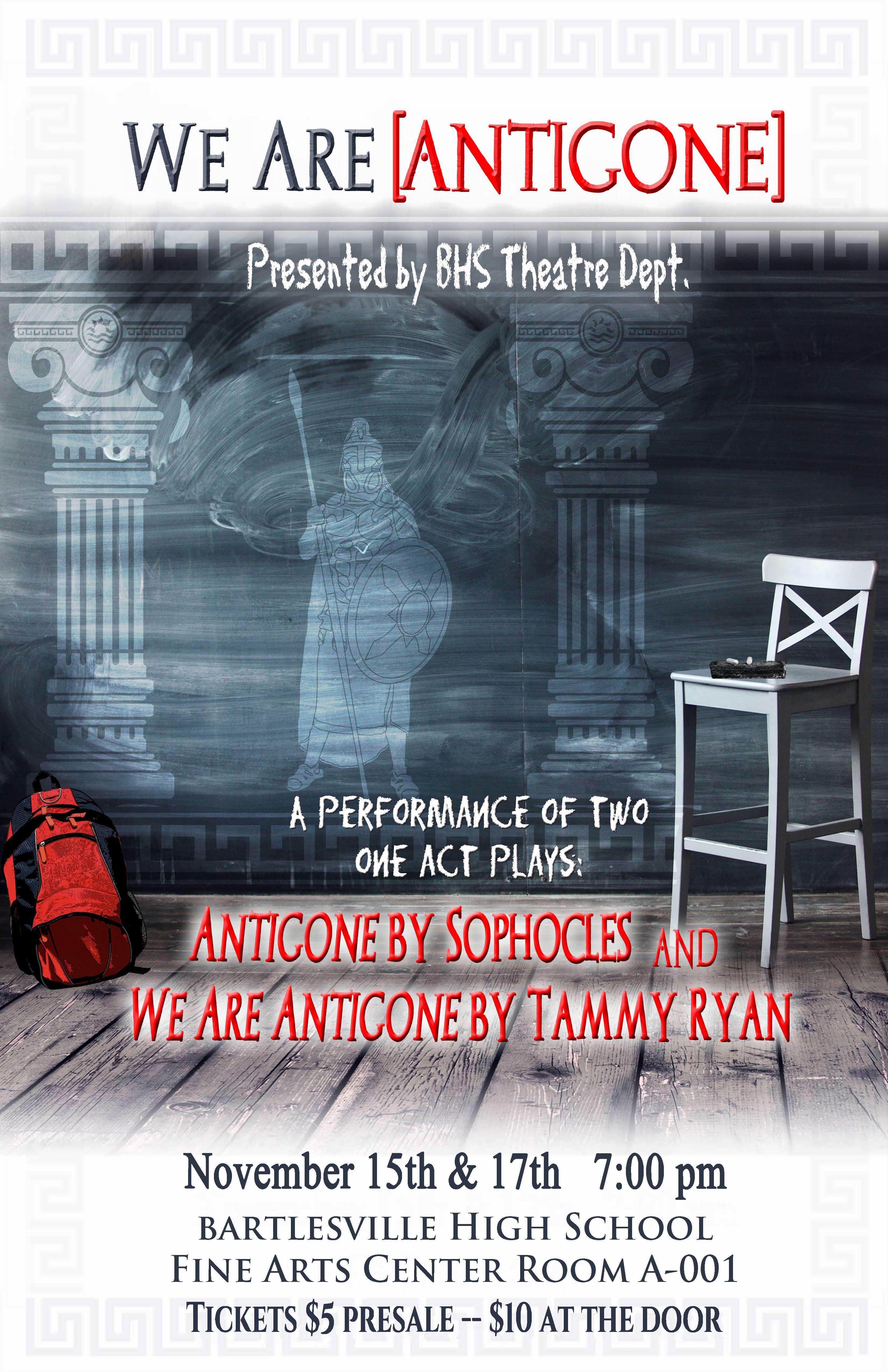 We Are Antigone