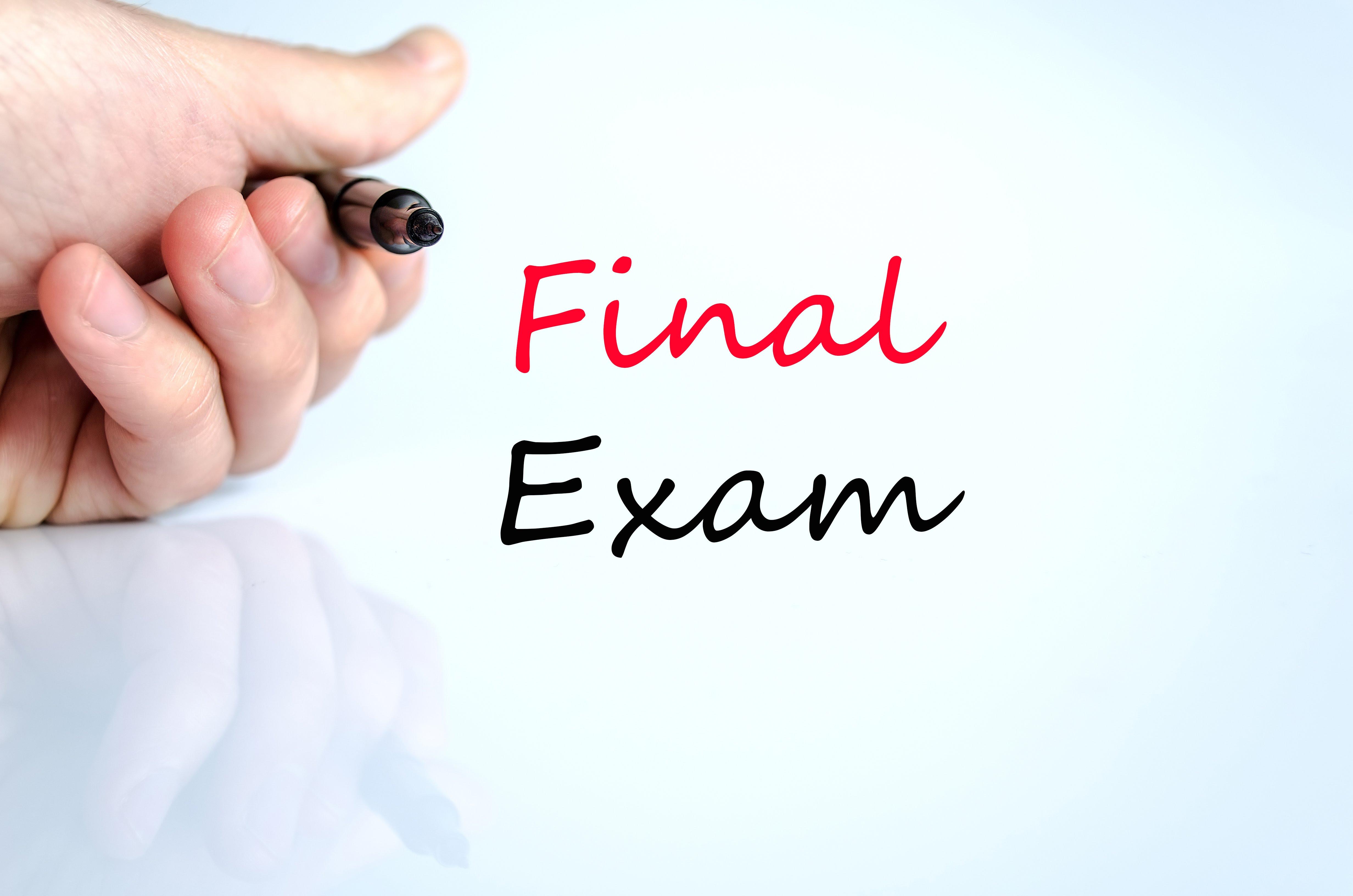 BHS Final Exams 2018