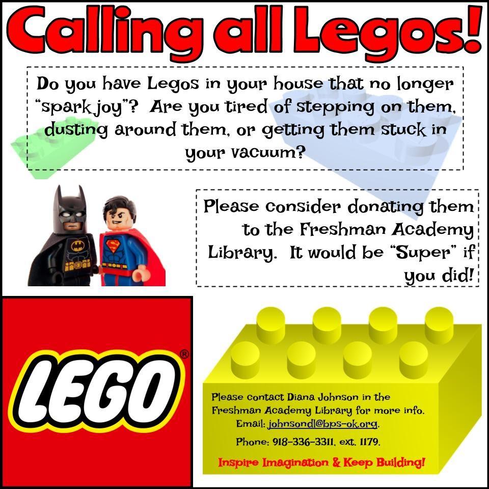 BHS Lego Flyer