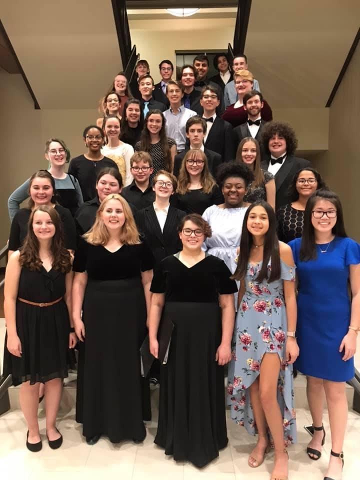Honor Choir members