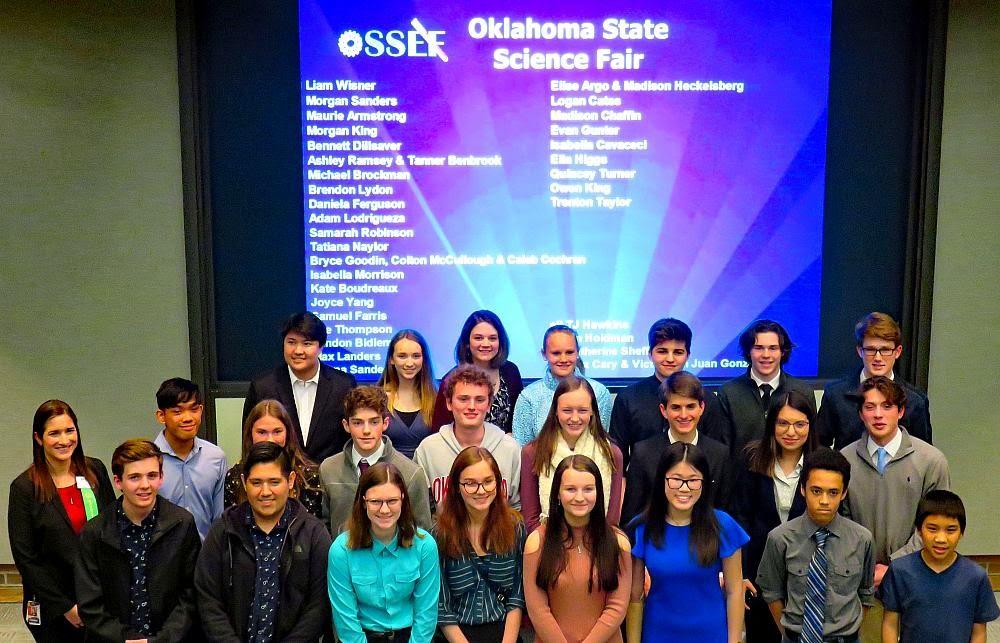 State Science Fair Delegation