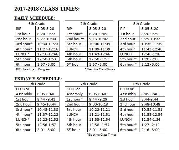 class times