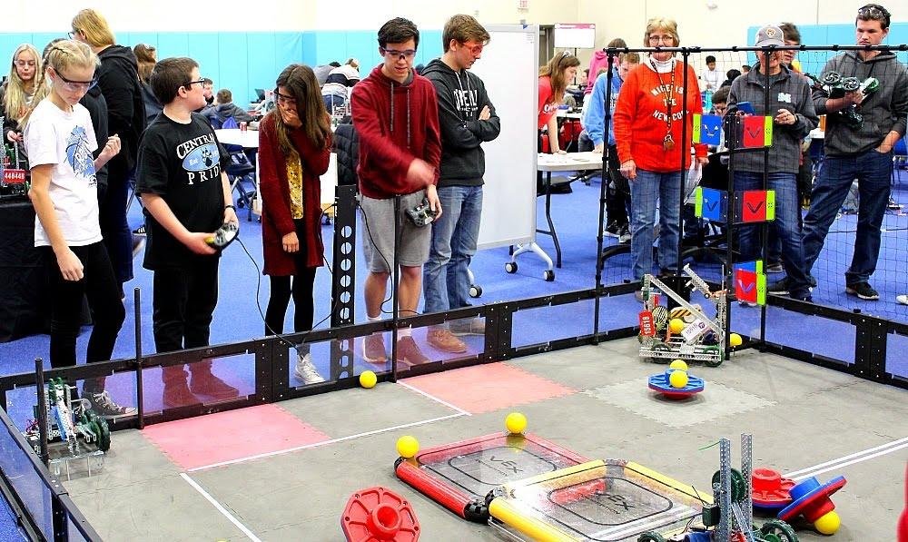 VEX Robotics tournament