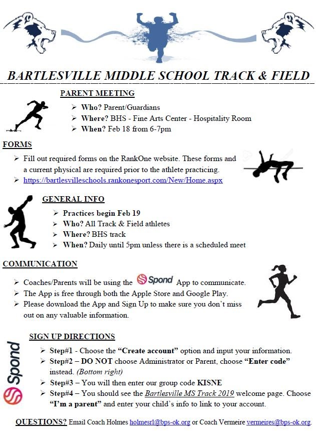 Track & Field Info