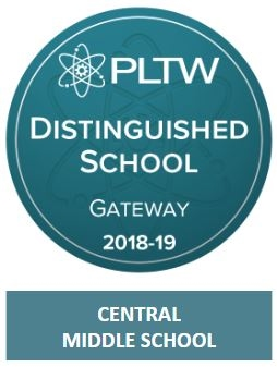 PLTW Distinguished School Badge