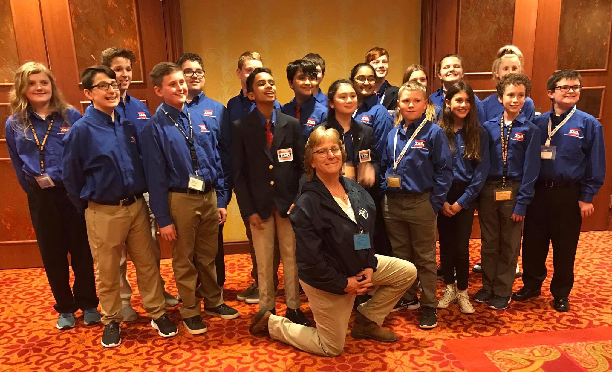 CMS at state TSA conference