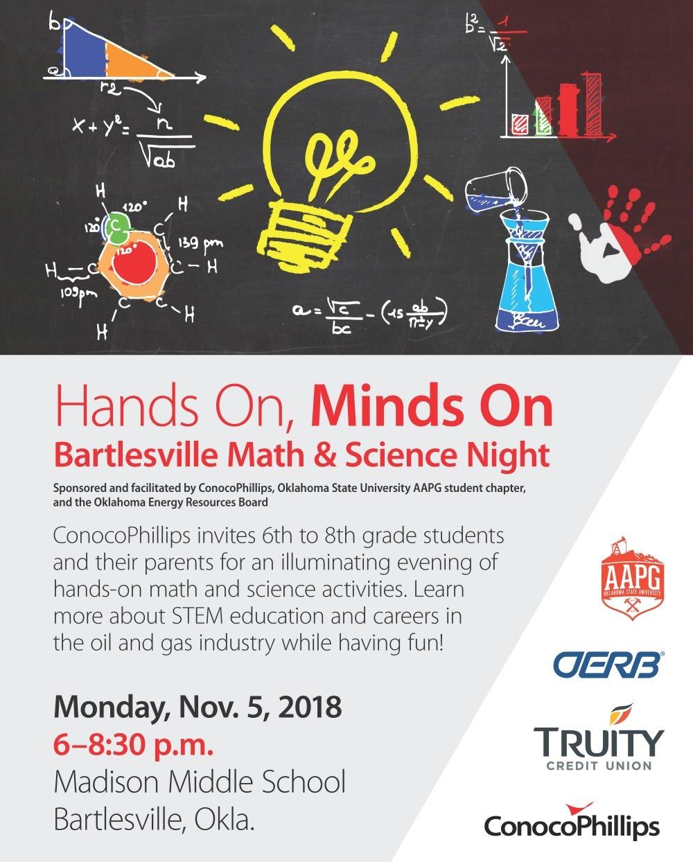 Math & Science Night Flyer