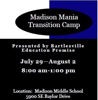 Madison Mania Camp