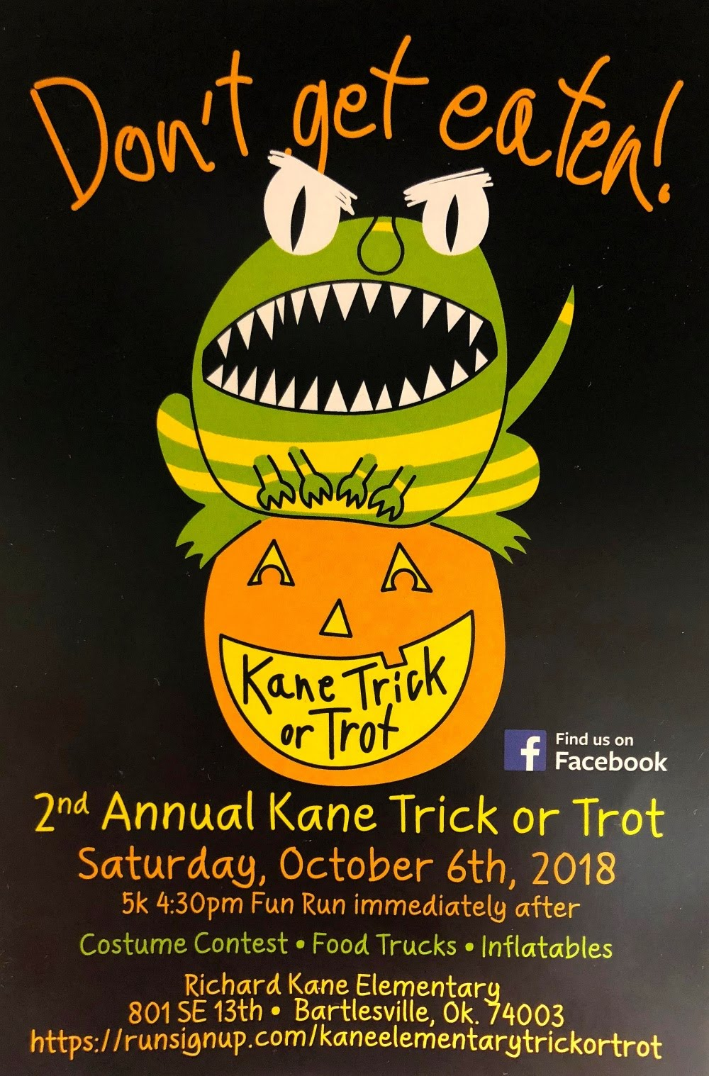 Kane Trick or Trot Flyer