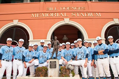 Bartlesville Bruins baseball team at Doenges Stadium