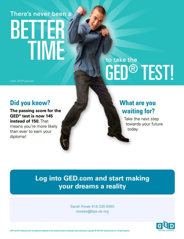 Where and how do I get a GED in Oklahoma?