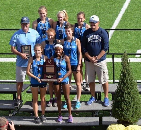 2016 Bruin Girls Cross Country 6A State Champions