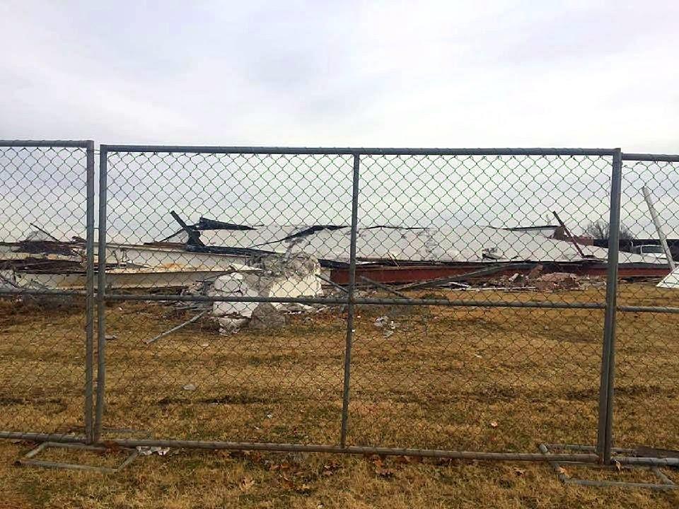 Original Madison demolition in December 2016