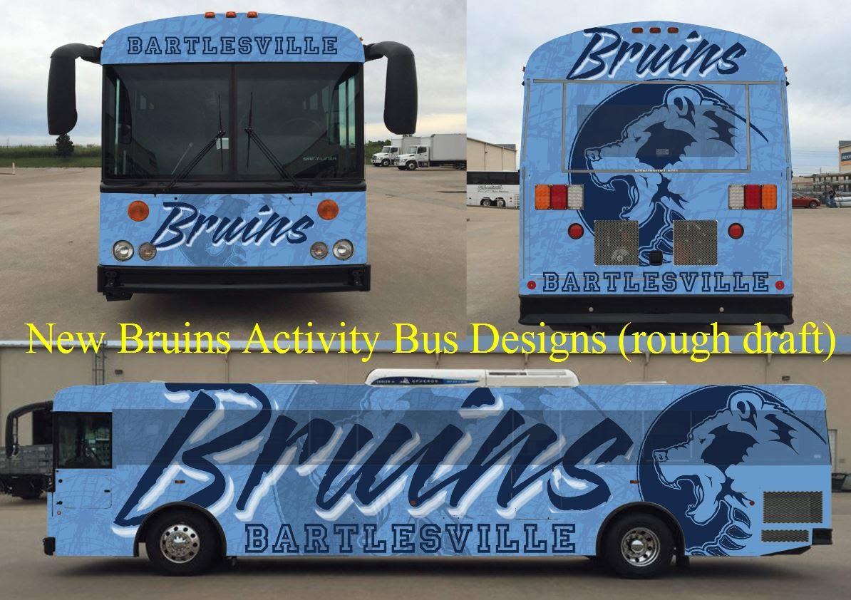 Activity bus mock-ups