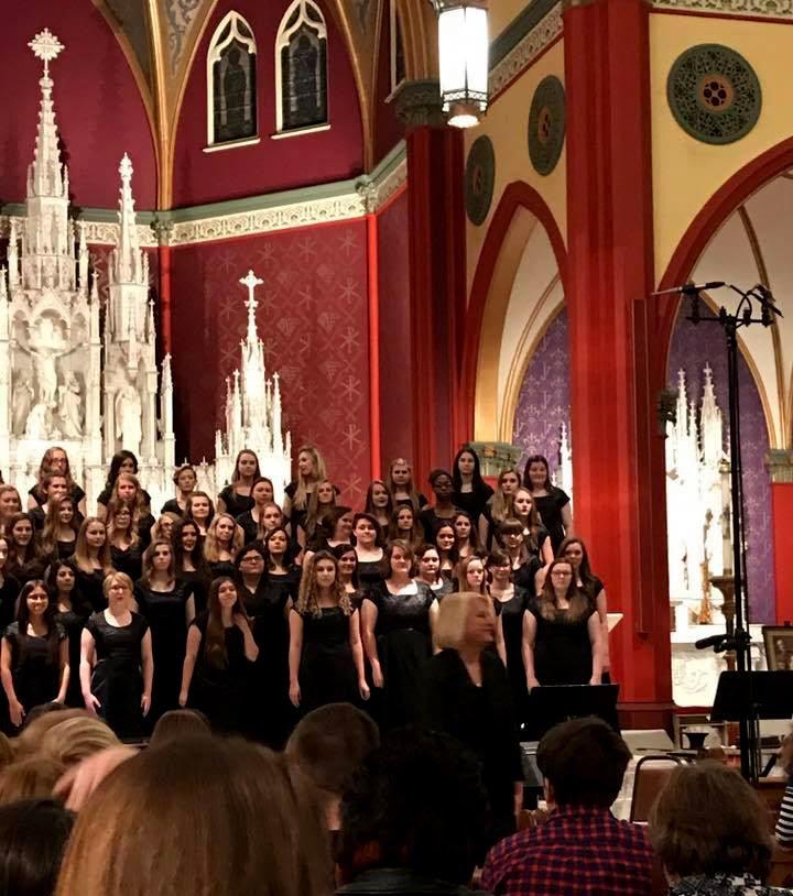 Margie Green and Choir