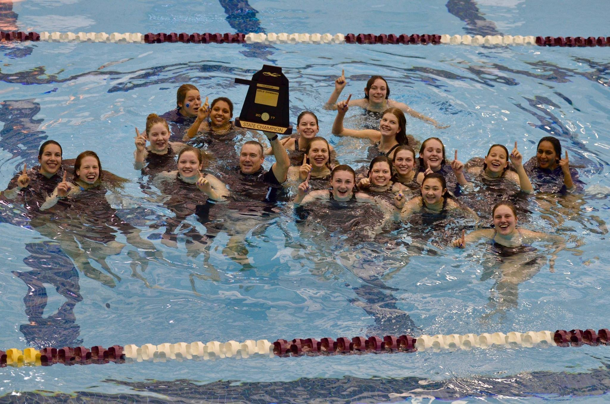 State 6A Girls Swimming Champions
