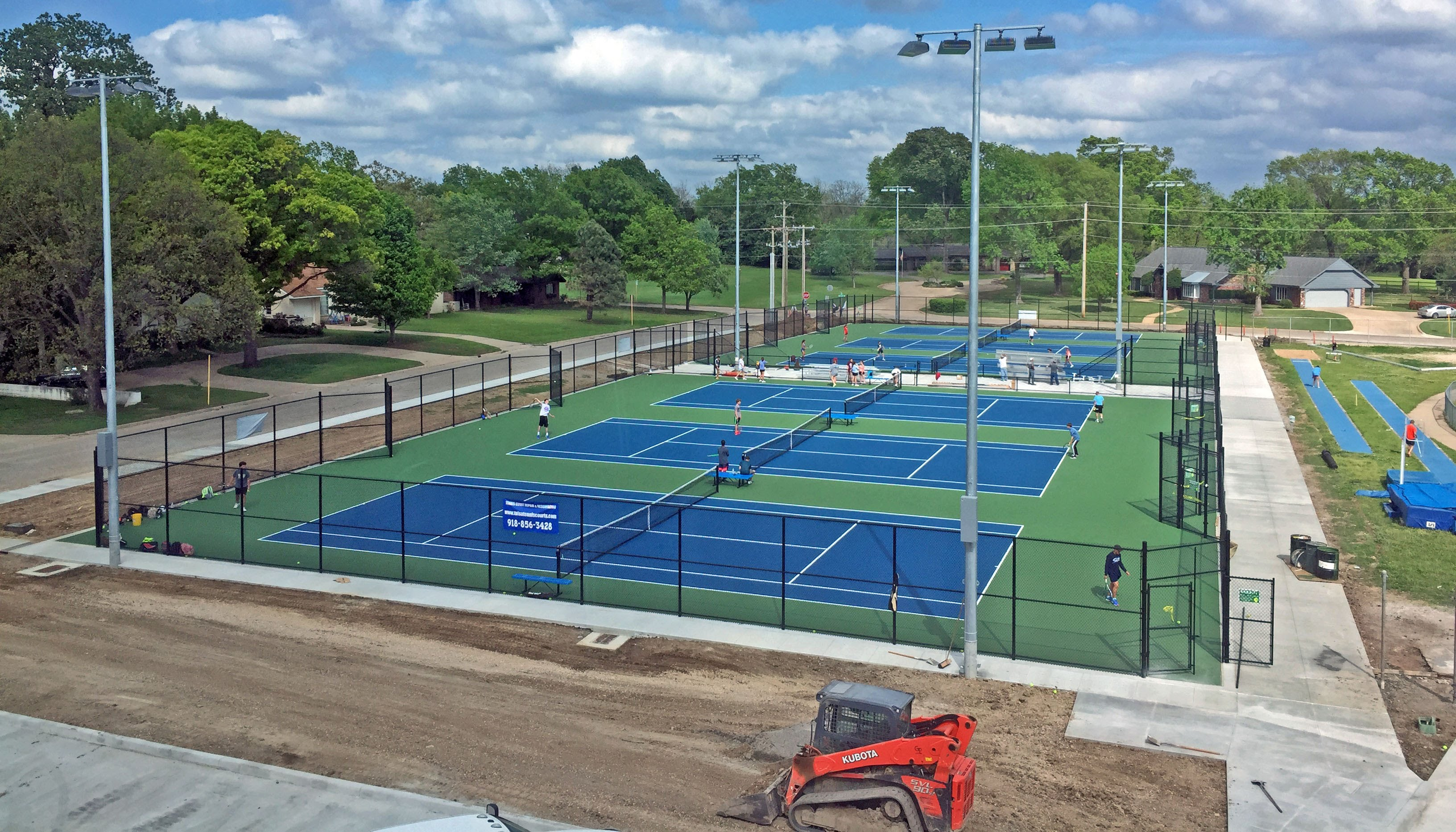 New courts