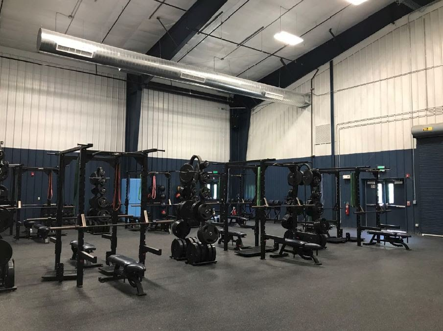 Athletics Weight Room in BAC