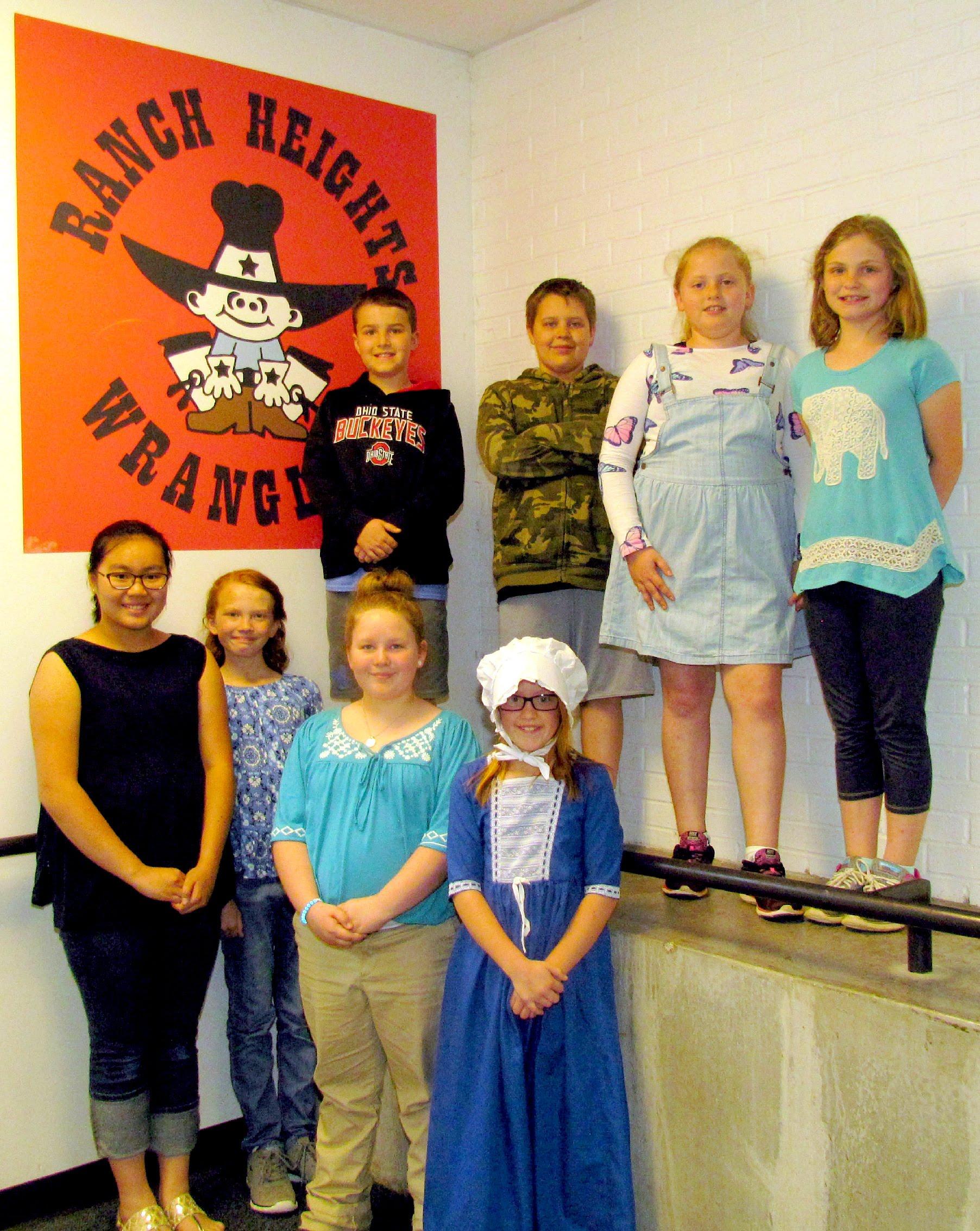 Ranch Heights 2017 Literacy Fair Winners