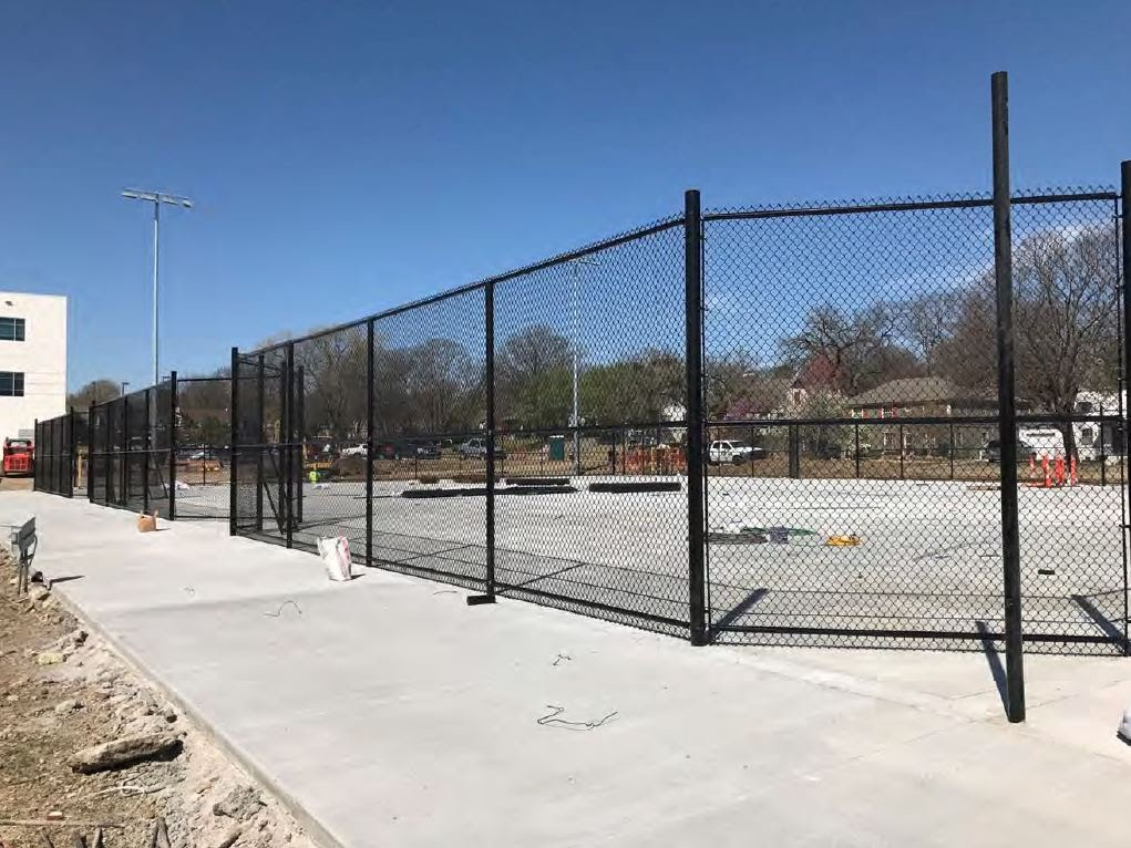 Tennis Courts Fencing