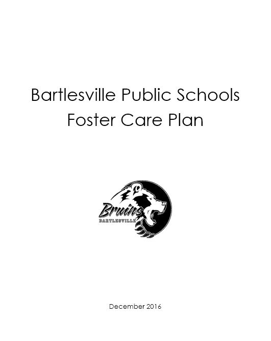 BPSD Foster Care Plan
