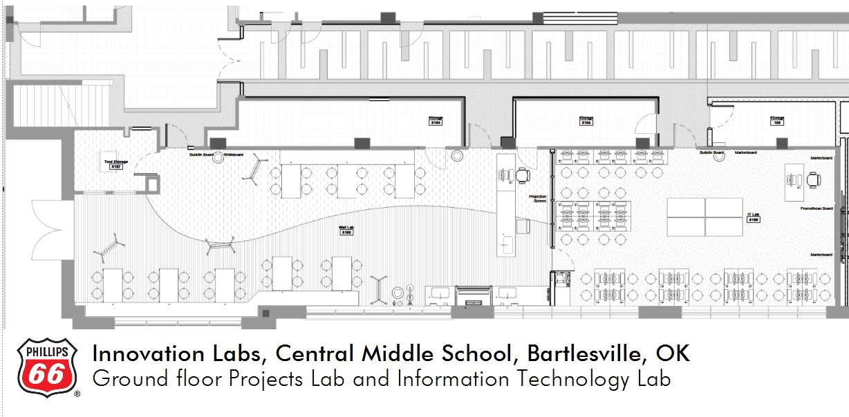 Central Ground Floor Labs Layout