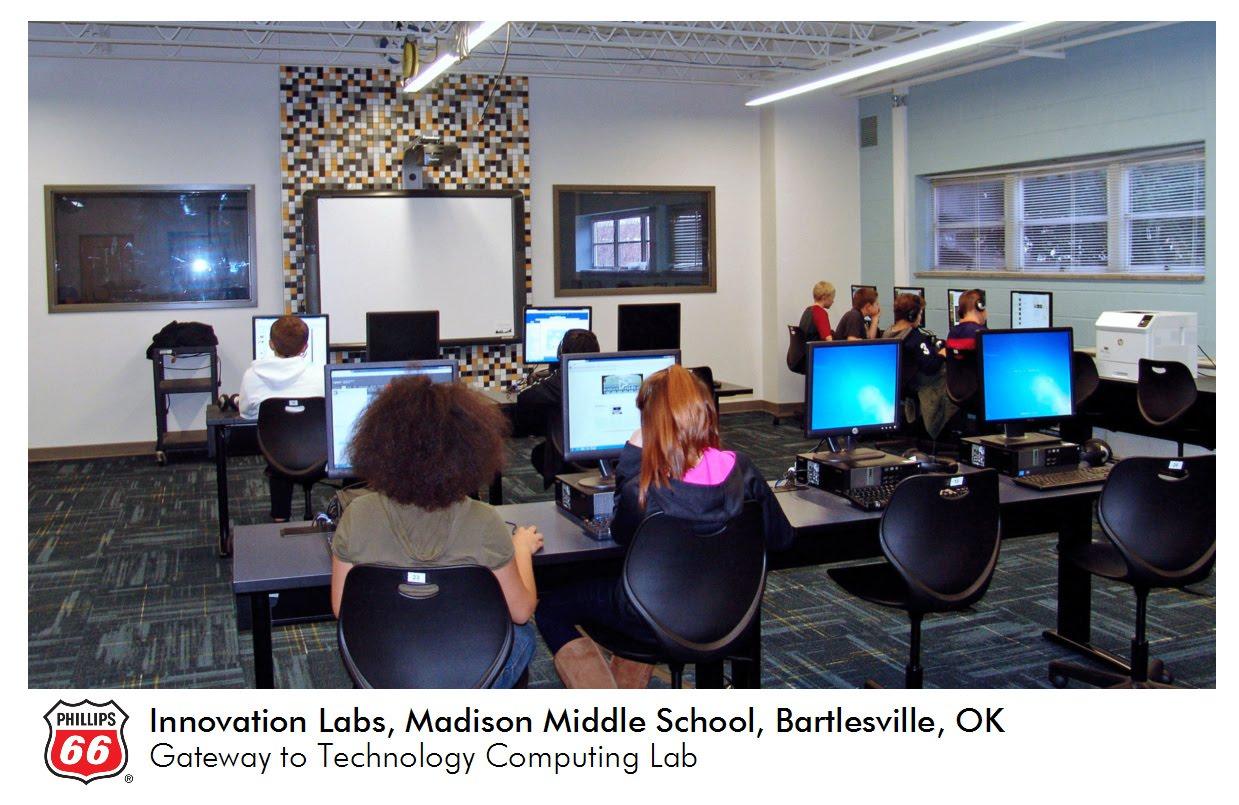 Phillips 66 innovation labs bartlesville public schools for Innovation lab