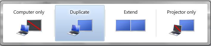 Duplicate Display