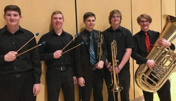 All-State Band Members