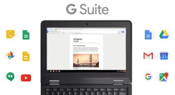 G Suite Chromebook