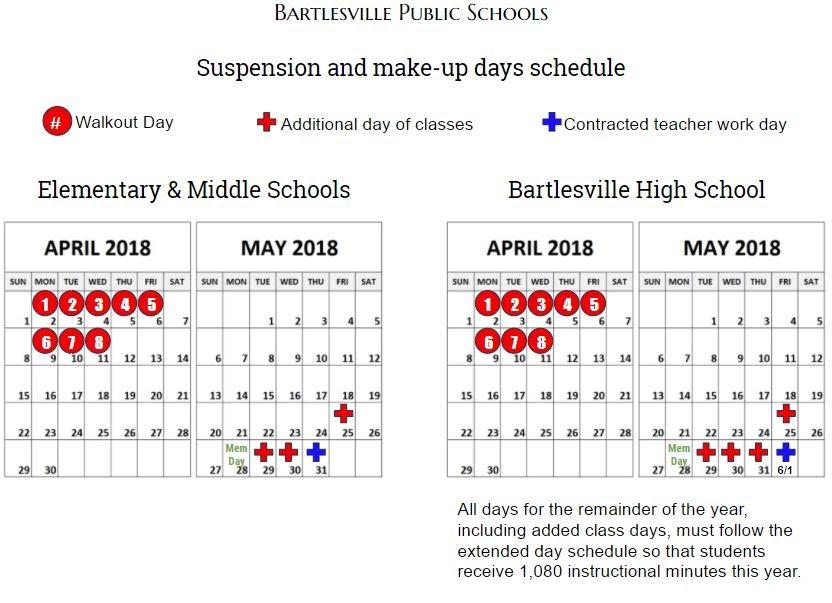 Suspension Calendar