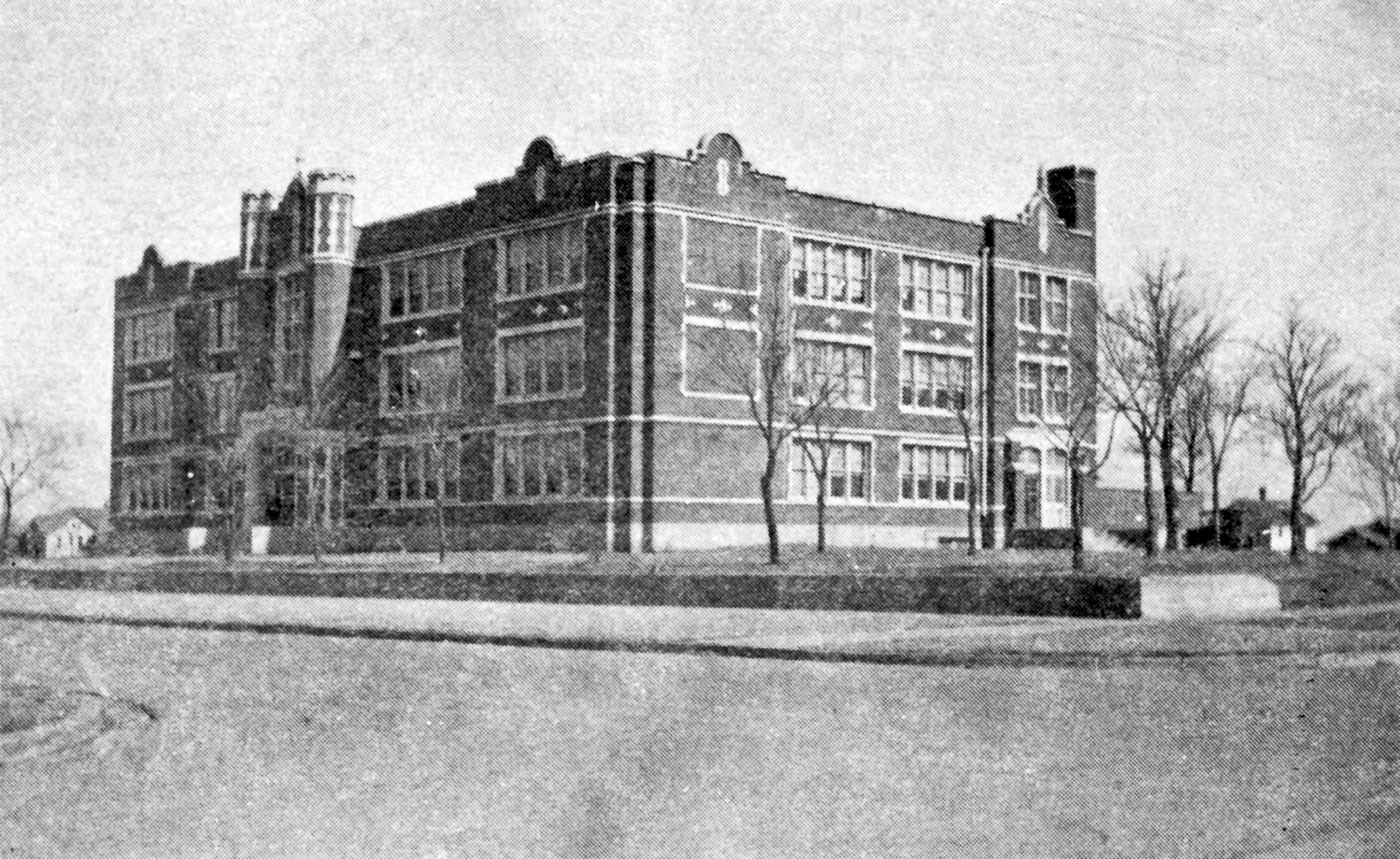 Before the 1924 addition