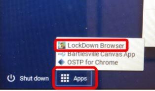 Lockdown Browser app