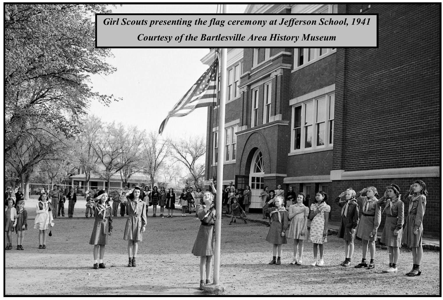 Raising the Flag in 1941