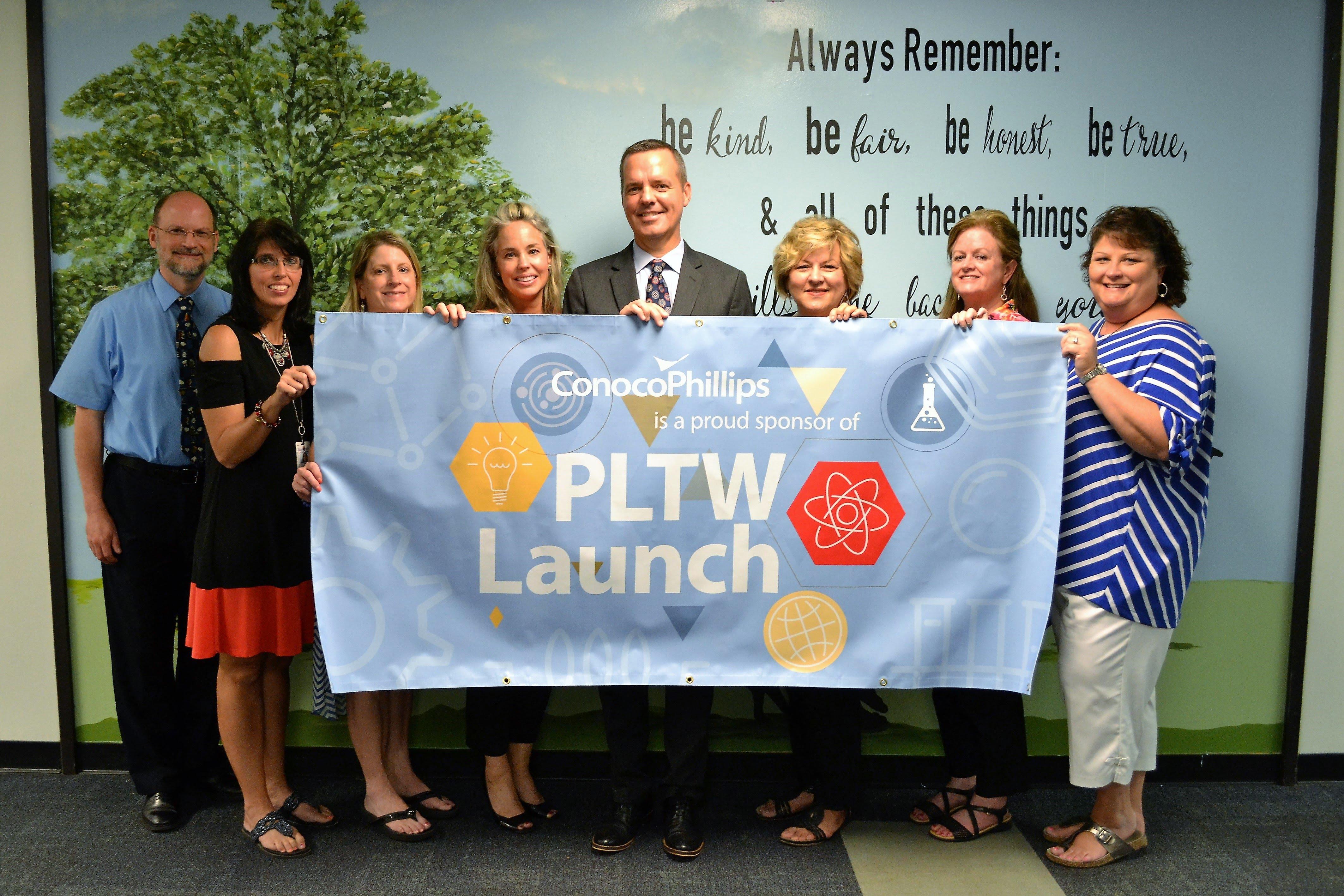 ConocoPhillips & PLTW Launch