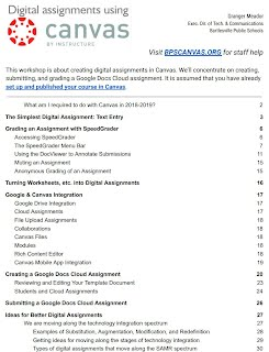 Digital assignments guide