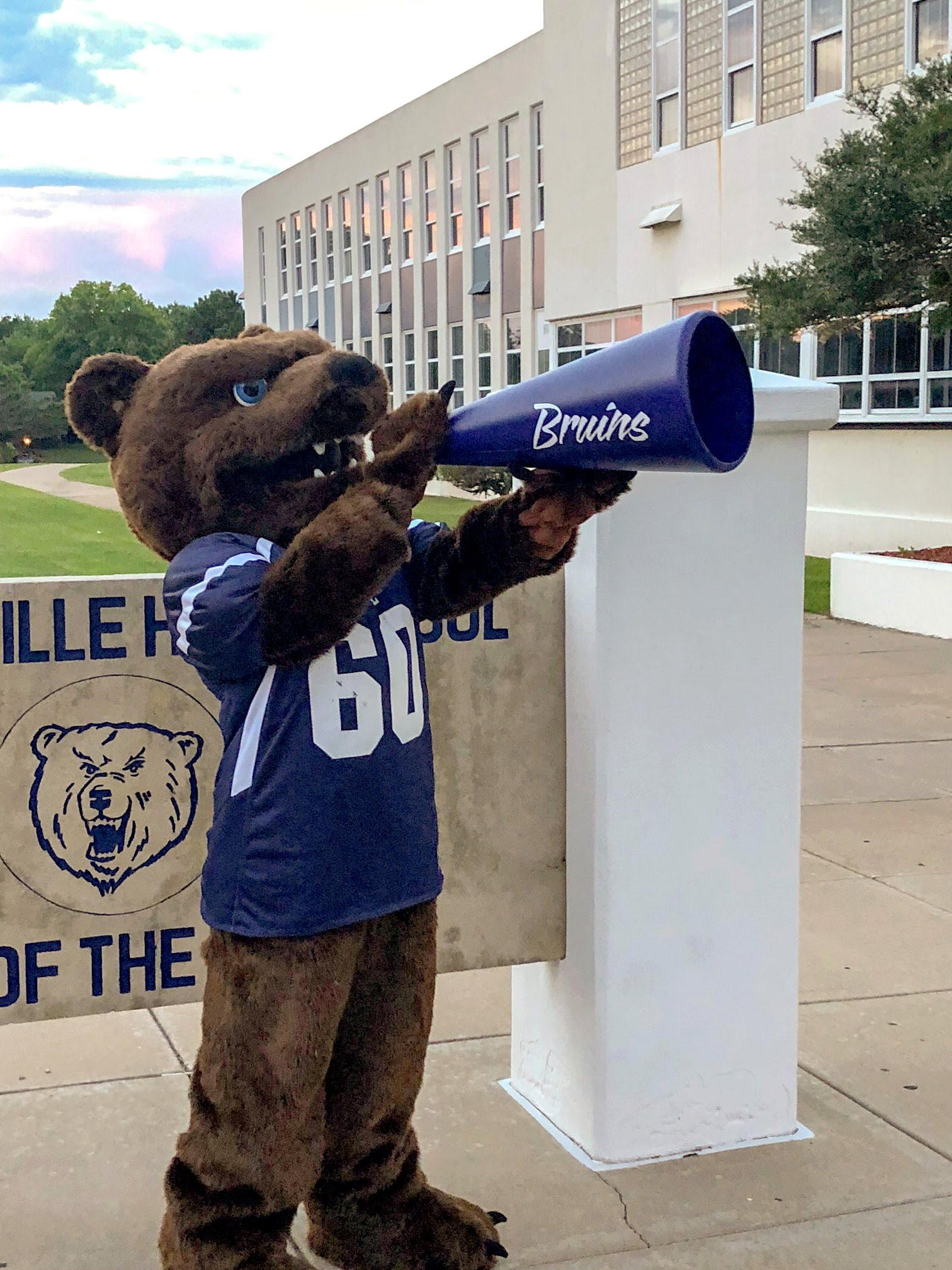 coloring and naming contests for the new bruin mascot bartlesville