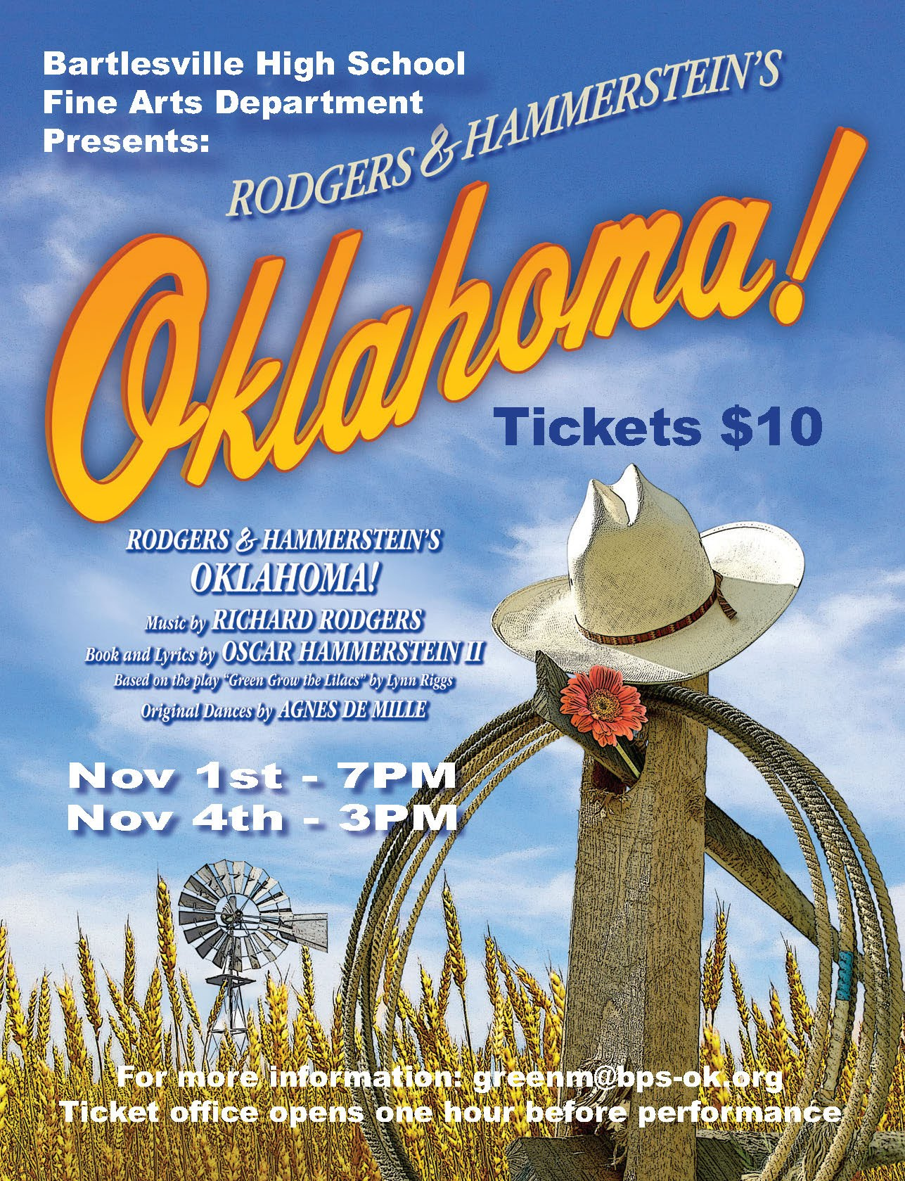 Oklahoma! Flyer