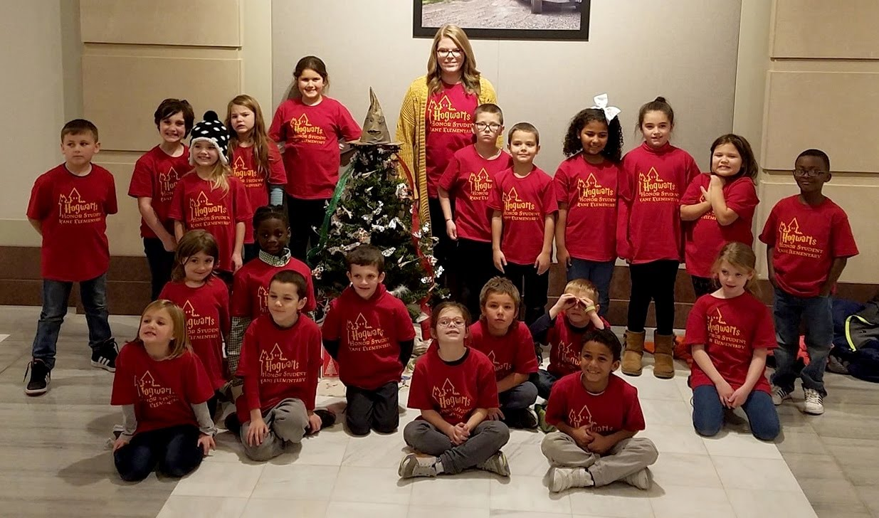 Voelkers' 2nd Grade Class at Capitol