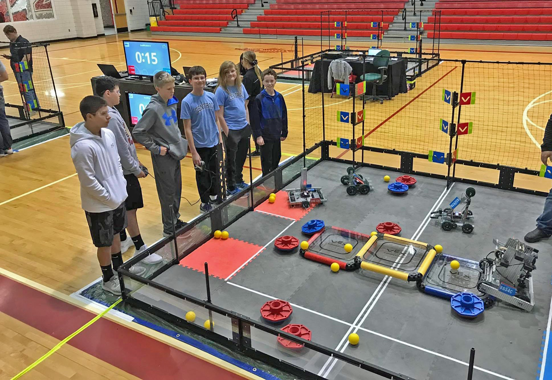 Central VEX Team at Claremore Event