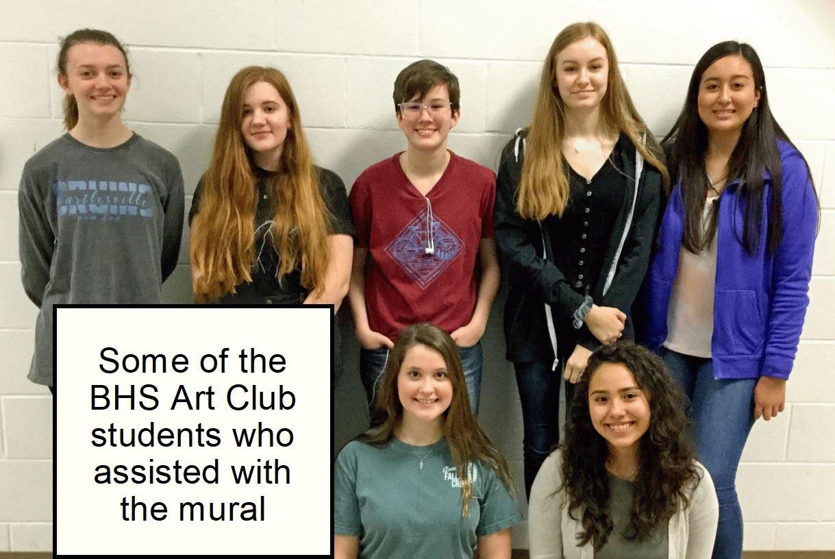 Art Club students